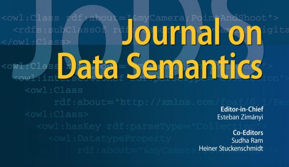 Una pubblicazione affiliata a C2T sul Journal on Data Semantics